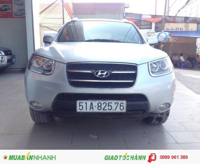 Bán xe Hyundai  Santa fe 2008 AT, 579 triệu