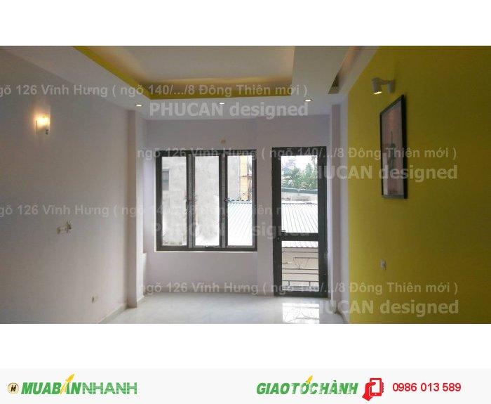 Bán nhà Vĩnh Hưng Hoàng Mai, DT 38m2 xây 4 tầng đẹp tinh tế, giá 2.04 tỷ