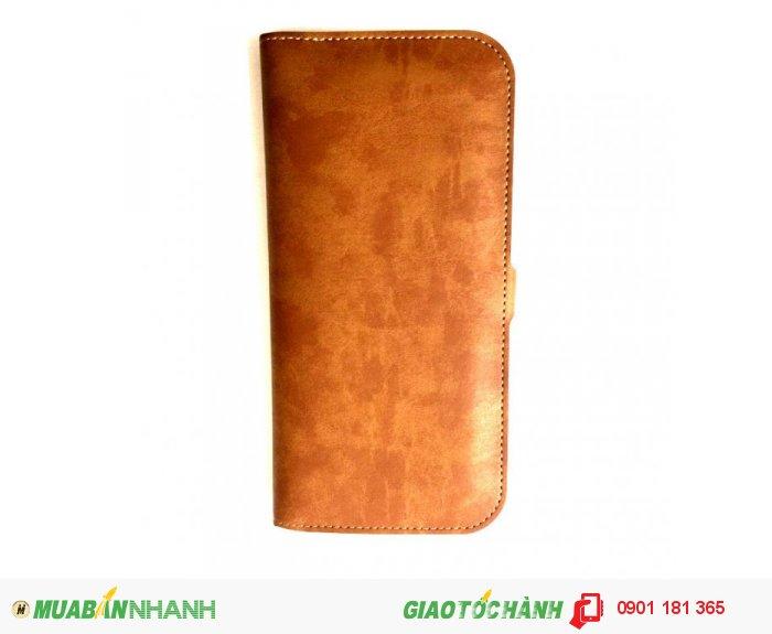 Bao da điện thoại 3 in 1 JLW WUW-PVN01 vàng nâu