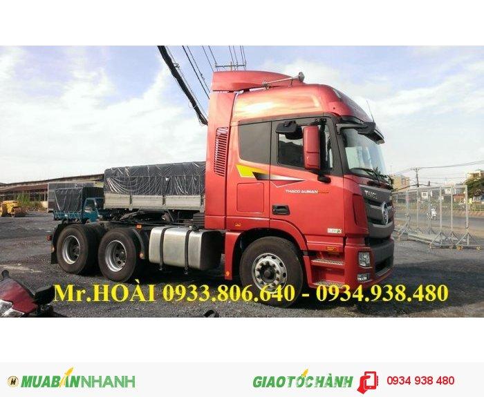 Xe đầu kéo Auman FV375, phun dầu commurail ,tiêu chuẩn Euro III