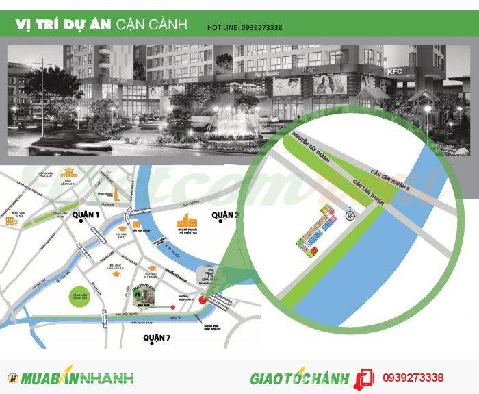 Căn hộ cao cấp liền kề Nguyễn Huệ mà giá chỉ 1 tỷ 6/2PN 60 m2