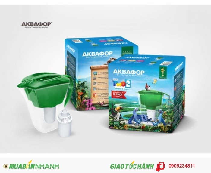 Aquaphor Lọc nước nhập khẩu độc quyền công nghệ Aqualen