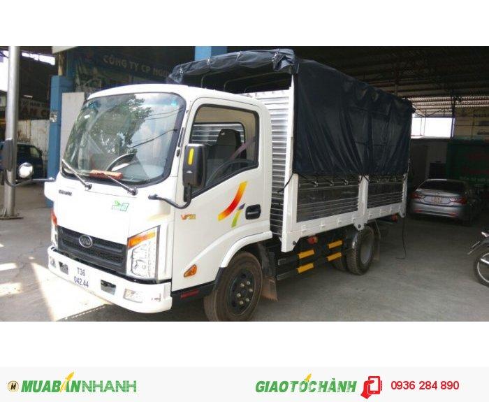 Xe tải 2,4 tấn thùng cao 1,93m 2016 giá 385tr
