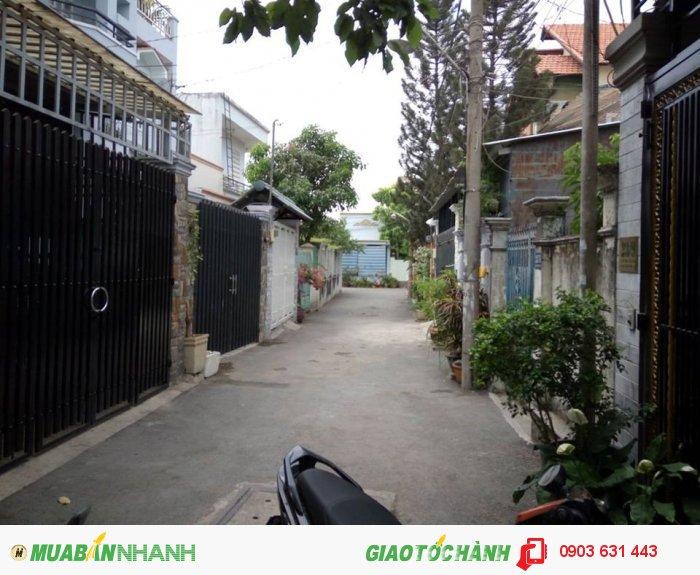 Nhà hẻm ô tô Lê Văn Thịnh gần bệnh viện Quận 2