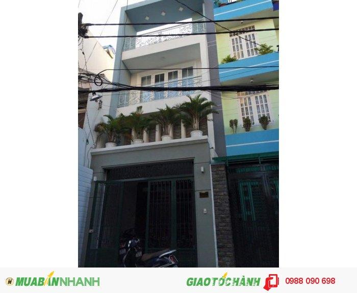 Bán gấp nhà hẻm xe hơi 2 chiều Bàu Bàng, phường 13, Tân Bình. Diện tích 4.25x16.7 nở hậu 4.8m,