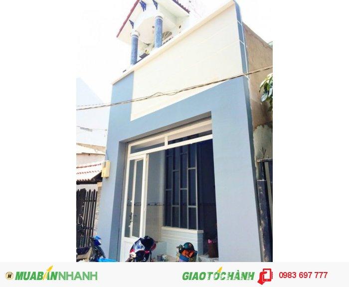 Bán gấp nhà 1 lầu hẽm 3m Huỳnh Tấn Phát, P. Phú Thuận, Q7.