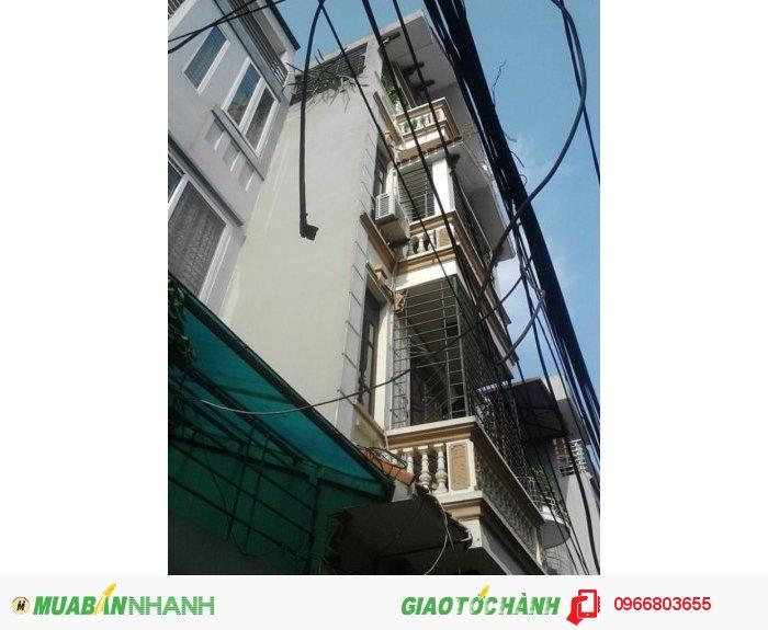 Chính chủ bán  nhà ngõ 250 Khương Trung, DT 53 m2, 4 tầng, MT 4.3 m, SĐCC giá 5.55 tỷ