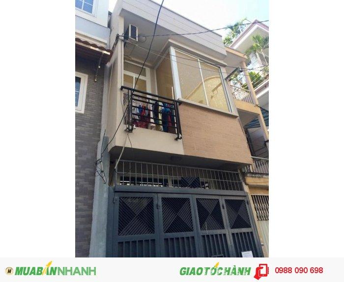 Bán gấp nhà hẻm nhựa 6m đường Nguyễn Bặc, phường 3, Quận Tân bình, Diện tích 3.5x12