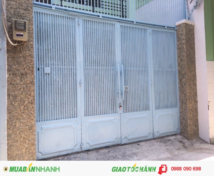 Bán nhà hẻm xe hơi đỗ cửa 2 mặt hẻm đường Phạm Văn Hai, Phường 3, Tân Bình. Diện tích 3.6x16