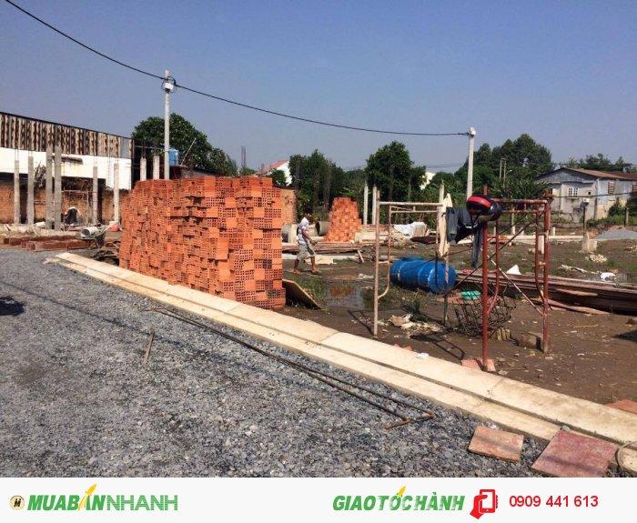 Đất thổ cư 100% mặt tiền đường Nguyễn Duy Trinh q9, 13tr/m2,SHR