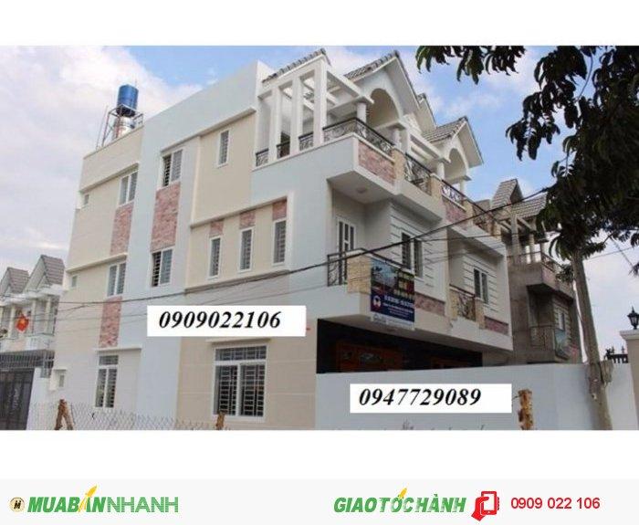 Nhà mới ngay Nguyễn Oanh, ngã 6 Gò Vấp. DTSD: 210m2 - Giá từ 2.4 tỷ - Đường nhựa 10m