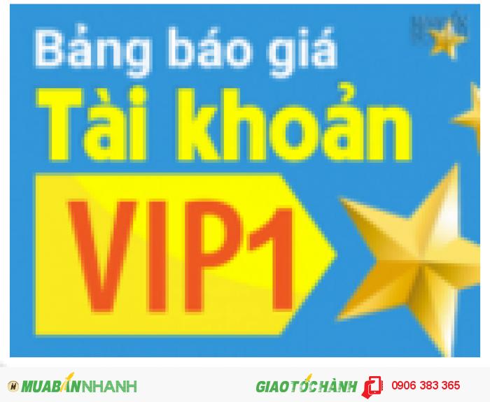 Tin hot! Tặng ngay 50% tài khoản VIP 1 khi tham gia gói 12 tháng!