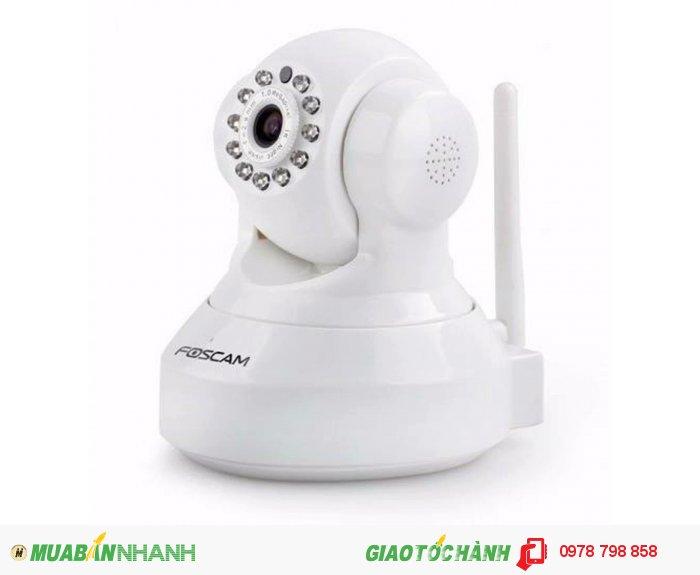 Product details of Camera IP không dây FosCam HD (trắng)+thẻ nhớ 8Gb