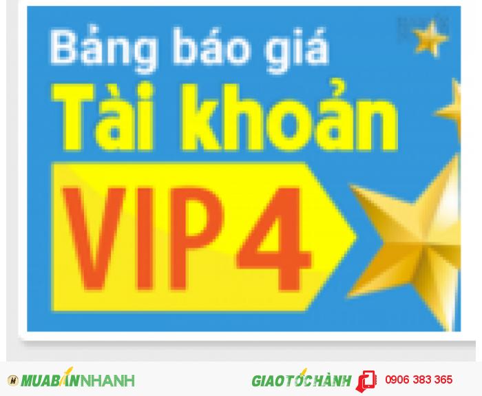Những tiên ích bất ngờ khi chọn tài khoản VIP 4