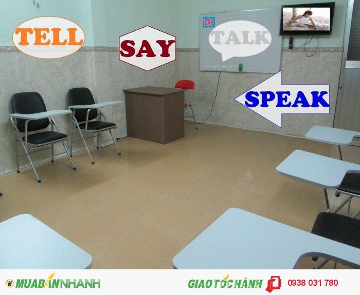 Phòng học rộng rãi, thoáng mát, trang thiết bị học tập hiện đại tạo điều k...