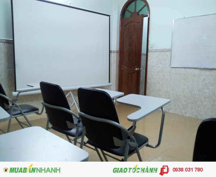 Phòng học luôn được trang bị đầy đủ tiện nghi, rộng rãi, thoáng mát, phù h��...