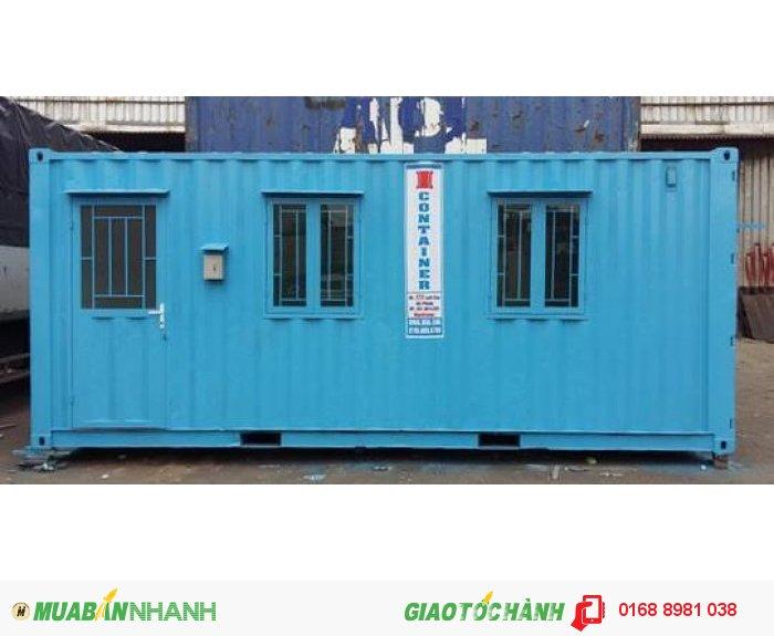 Cho thuê container văn phòng giá rẻ đóng mới