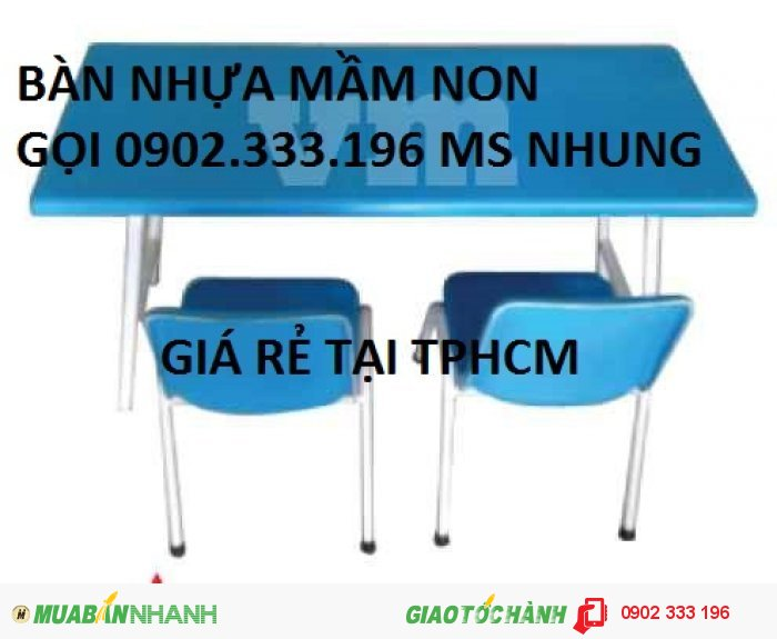Bán bàn ghế nhựa cho bé, bàn ghế trẻ em giá rẻ
