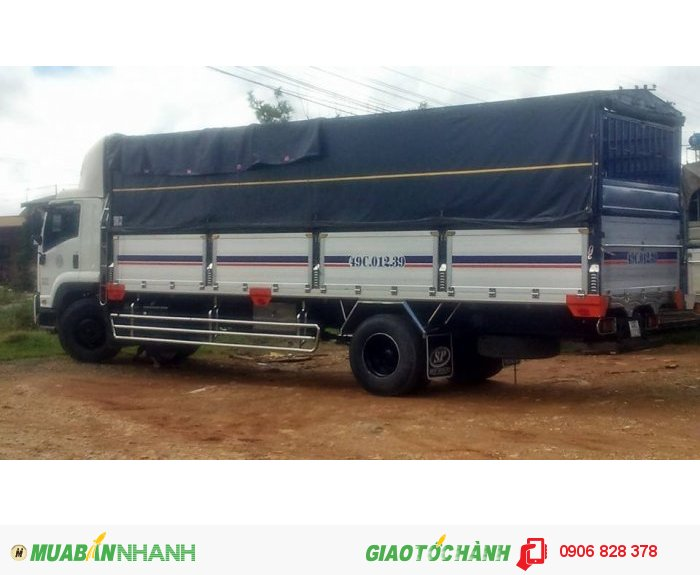 Bán Xe Tải ISUZU 16 tấn thùng kín thùng Mui bạt giá rẻ nhất thị trường các tỉnh miền nam