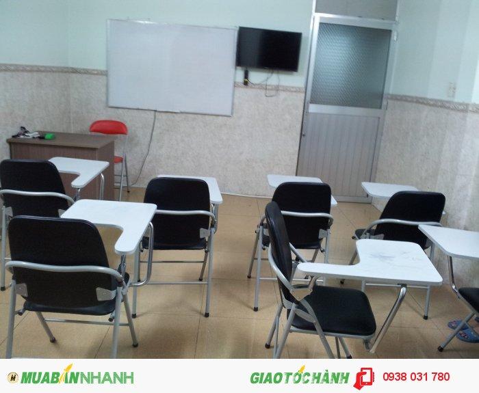 Phòng học luôn được trang bị đầy đủ tiện nghi, rộng rãi, thoáng mát, giúp các bé thoải mái hơn khi học tại trung tâm.