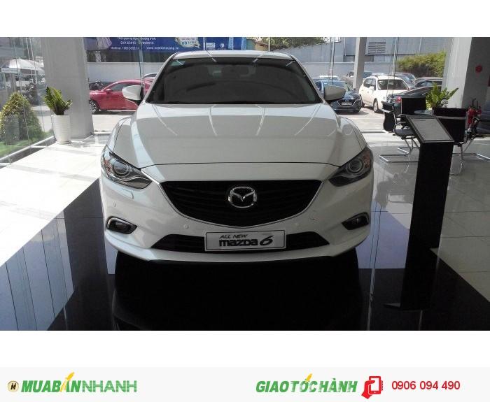 Mazda 6 All new 2016 ưu đãi tốt nhất cho Khách hàng