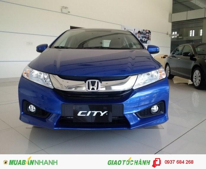 Bán xe Honda City 1.5 CVT đời 2016 màu xanh