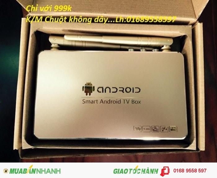 Đầu Smart TV Box Android Q9 Giá Rẻ-BH 12 tháng!0