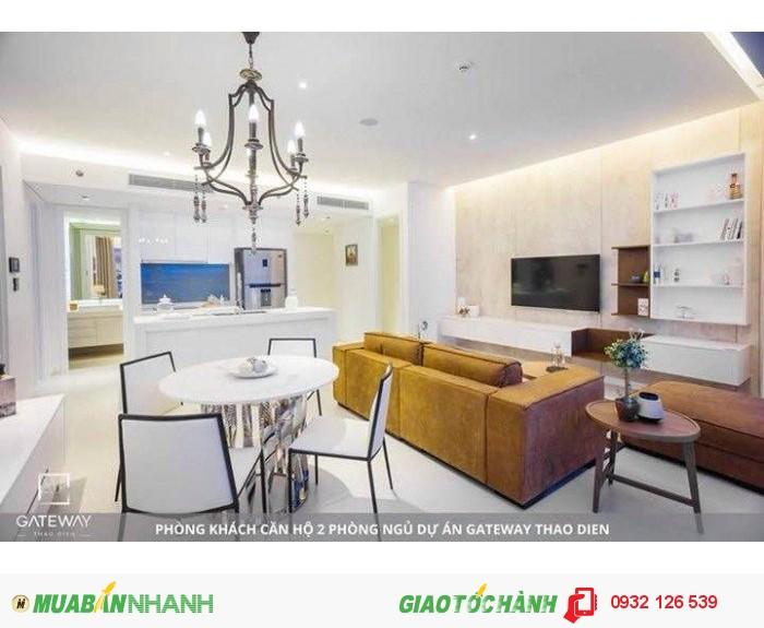 Bán căn hộ Gateway 2Pn view sông giá rẻ hơn chủ đầu tư