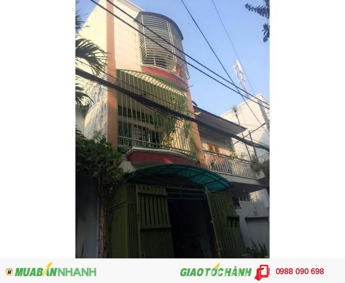 Bán nhà hẻm 3 m đường Nguyễn Đình Chiểu, Phường 4, Phú Nhuân. Diện tích 3,7 x14m