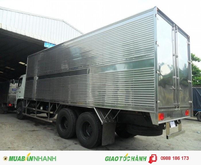 Bán Xe ISUZU  16 tấn 3Chân thùng Mui bạt giá rẻ trả góp lãi suất thấp