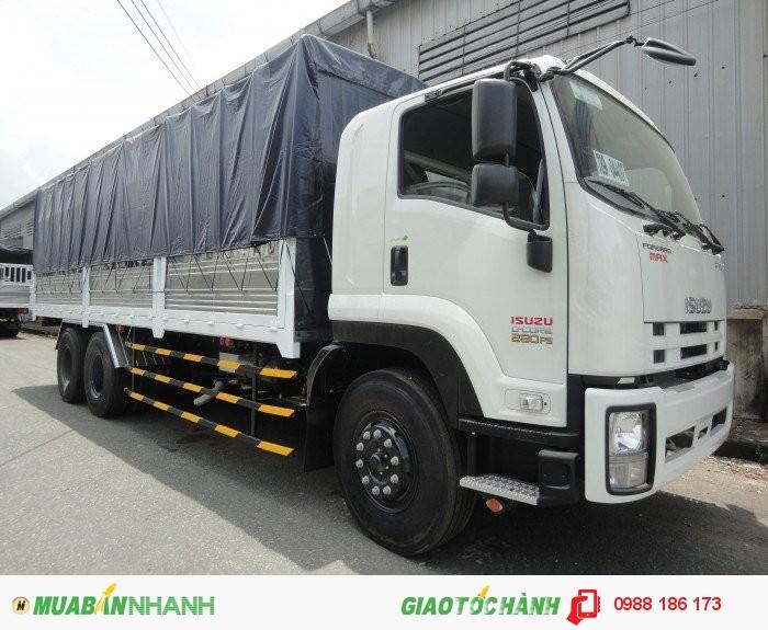 Xe tải ISUZU 3Chân,16 tấn thùng kín thùng Mui bạt Giao Xe Toàn Quốc có Sẵn Giao Ngay