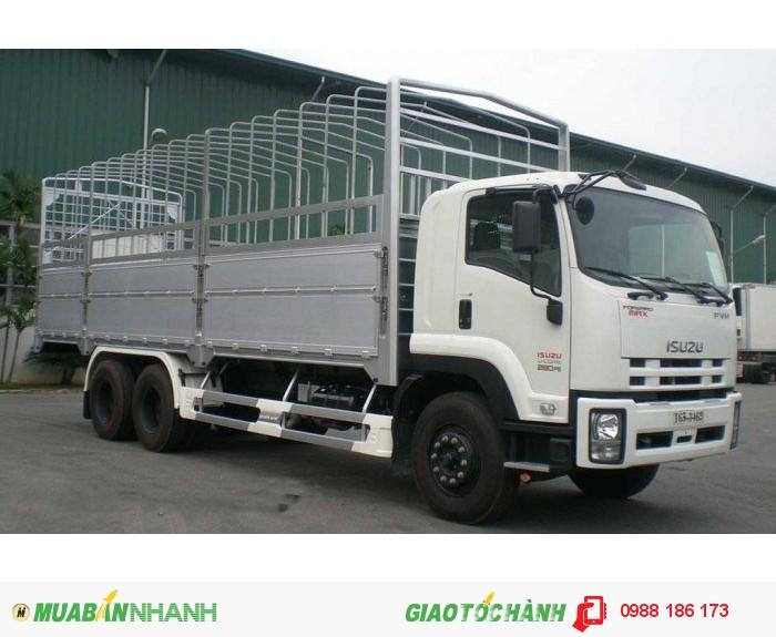 Bán Xe tải ISUZU 3Chân, 16 tấn trả góp lãi suất thấp thùng kín thùng Mui bạt