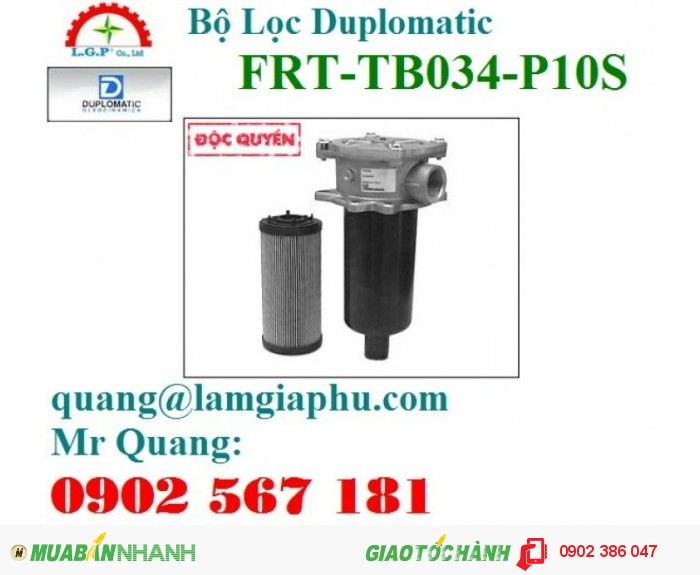 Bộ Lọc Duplomatic FRT-TB200-P10S