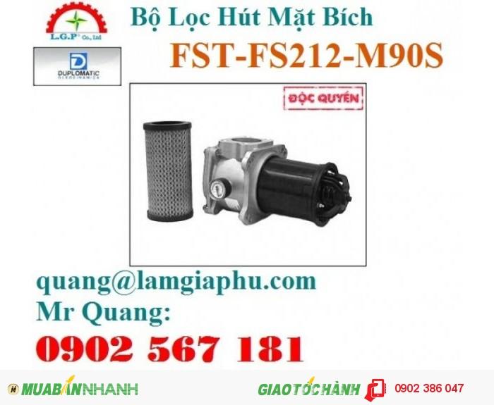 Bộ Lọc Hút Mặt Bích Duplomatic FST-FS212-M90S