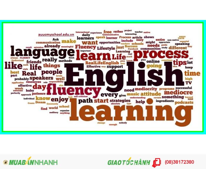 Khai giảng khóa học anh văn cơ bản - sơ cấp - trung cấp - cao cấp dành cho người mất căn bản, mới bắt đầu và cần nâng cao trình độ ngoại ngữ