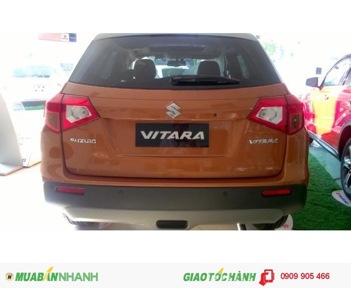 Suzuki Vitara 2016 ,Xe nhập khẩu Hungary, Đỏ Cam nóc trắng đen- 739tr