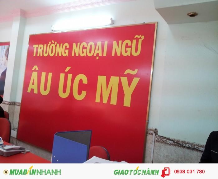 Đăng ký khóa học ôn thi TOEFL iBT hiệu quả tại Trung tâm Ngoại ngữ Âu Úc Mỹ - 368 Nguyễn Văn Luông, Phường 12, Quận 6, Tp.HCM.