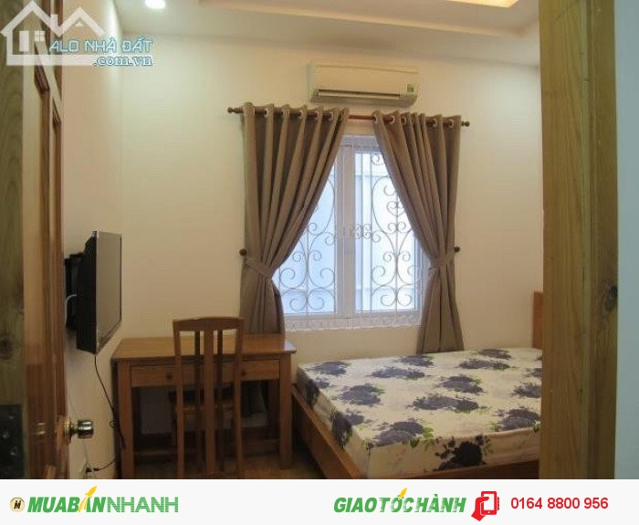 Cho thuê căn hộ quận 1, quận 3,full tiện nghi,có bếp,không chung chủ,giờ tự do,đường Nguyễn Trãi