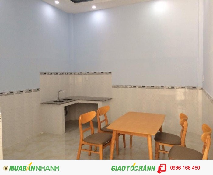 Nhà mới xây 1 lầu - SHR - 4x16,5m - Hà Huy Giáp Q12