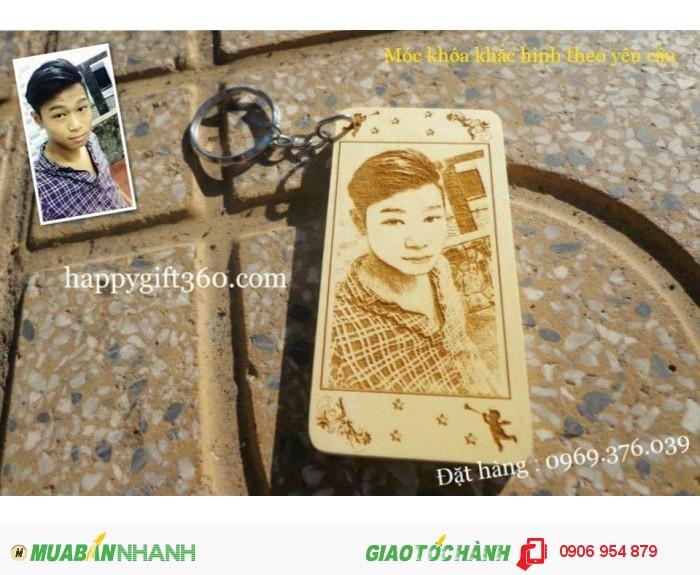 Móc khóa khắc chân dung tại Bình Thạnh2