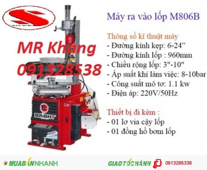 Máy tháo lốp xe máy Bringht M806