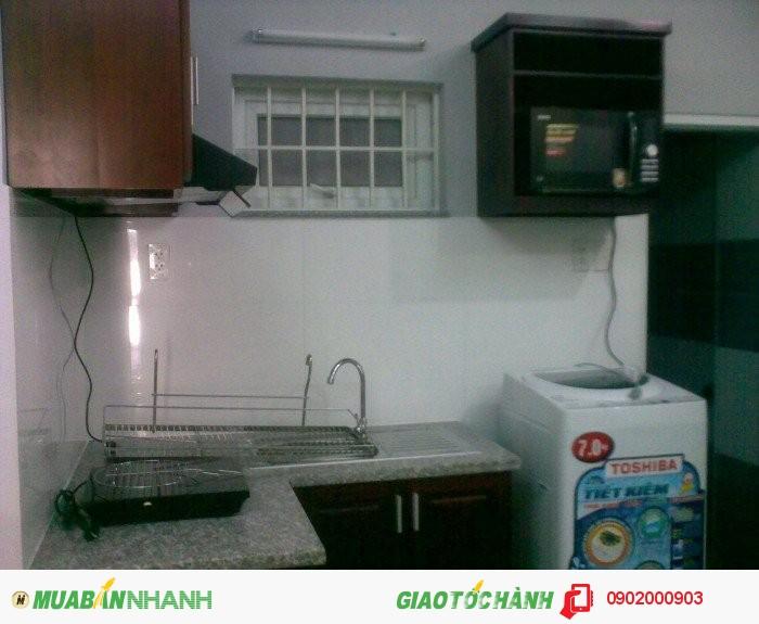 Cho thuê căn hộ 1 phòng ngủ ở Lê Văn Sỹ Quận 3. Diện tích 45m2.giá 7 tr/tháng