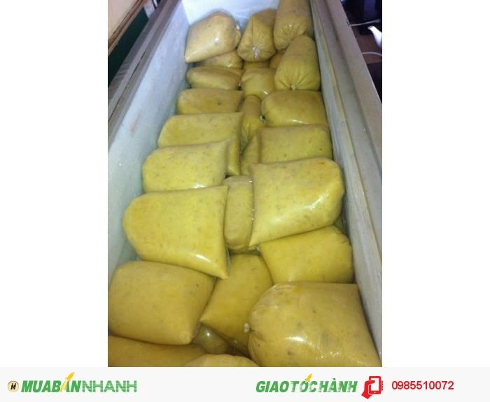 Cung cấp cơm (thịt) sầu riêng làm chè, bánh, sinh tố,...2