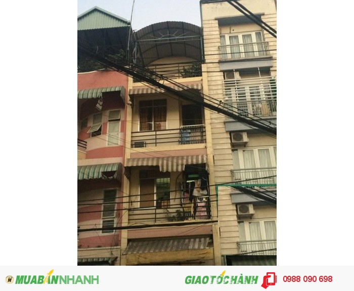 Bán nhà MT Út Tịch, phường 4, quận Tân Bình. DT: 3,5x11m