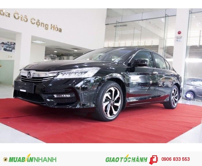 Honda Accord 2016 mới, giá tốt, giao sớm kèm quà tặng giá trị