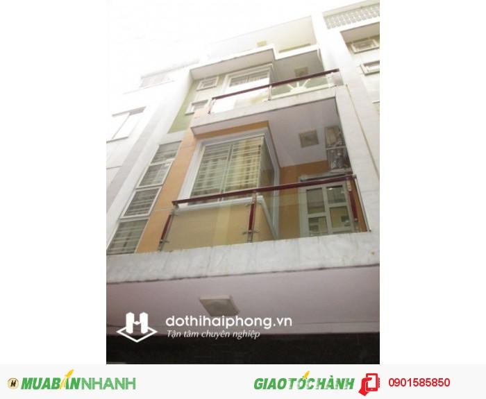 Nhà 4 tầng, nội thất cao cấp, ngõ 3m, nằm trong khu nhà ở 254 Văn Cao, hướng TN, giá chỉ 1,38 tỷ