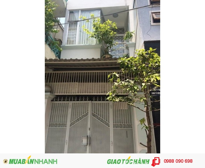 Bán nhà hẻm xe hơi Thích Quảng Đức, P.5, Phú Nhuận. DT 3x14m, nở hậu 3.7m