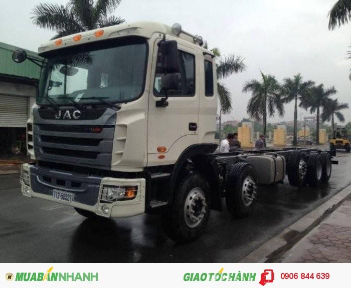 Xe tải Jac 5 chân Weichai máy 340Hp giá ưu đãi nhất