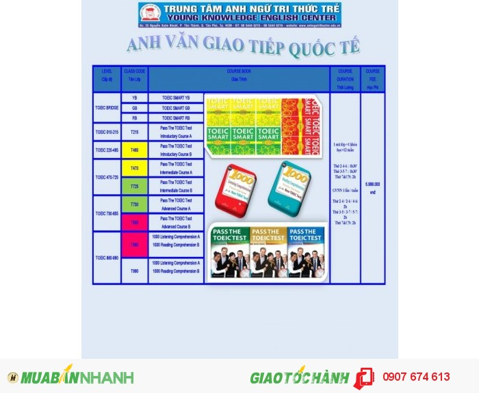 Tiếng Anh Giao Tiếp Quốc Tế - TOEIC