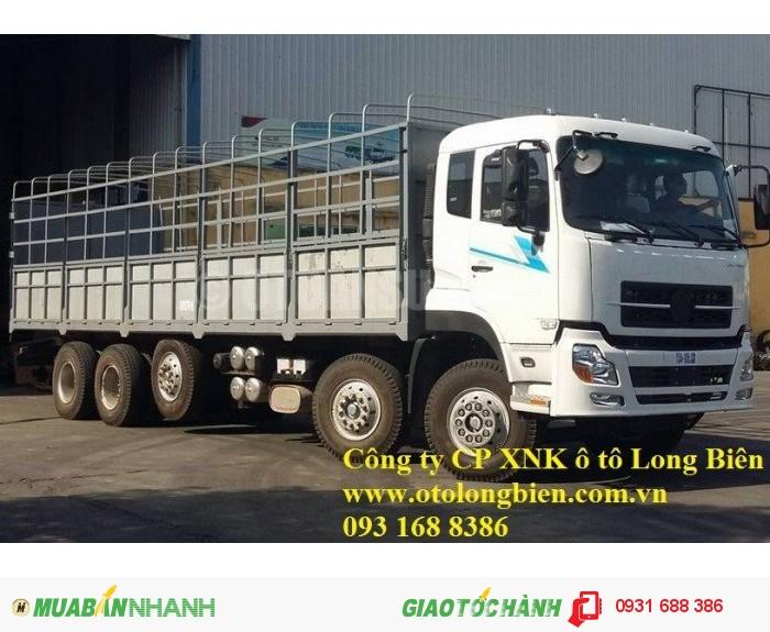 Xe tải thùng 5 chân Dongfeng tải trọng 21-22,5 tấn Long Biên, Hà Nội 2016 0